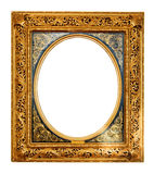 Old gold frame royalty free stock photography