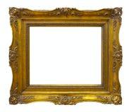 Old  gold frame Stock Photos