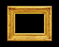 Old gold frame Royalty Free Stock Photo