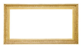 Old  gold frame Royalty Free Stock Image