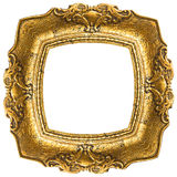 Old Gold Frame - Rectangle Stock Photography