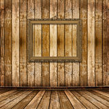 Old gold frames Victorian style on the wall Stock Photography