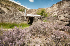 Old gold mine in Central Otago Stock Photos
