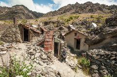 Old gold mine in Central Otago Royalty Free Stock Photos