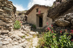 Old gold mine in Central Otago Stock Image