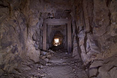 Old Gold Mine Tunnel Stock Photography