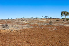 Old gold mining settlement, Australia. Stock Photos