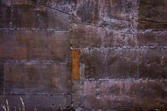 Old Gold mining shack tin siding Stock Images