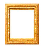 Old gold painting frame Royalty Free Stock Photos