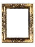 Old Gold Picture Frame Stock Photos