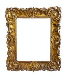 Old gold picture frame Stock Photography