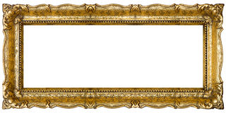 Old Gold Picture Frame Royalty Free Stock Image