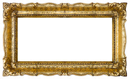 Old Gold Picture Frame Royalty Free Stock Photos