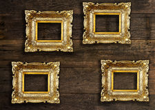 Old Gold Picture Royalty Free Stock Image