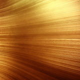 Old gold polished metal texture for design or background Stock Photos