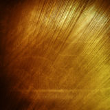 Old gold polished metal texture for design or background Stock Image