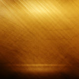 Old gold polished metal texture for design or background Royalty Free Stock Image