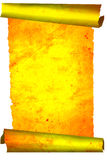 Old gold scroll stock image