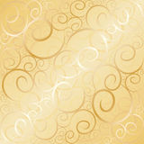 Old Gold Swirl Royalty Free Stock Images