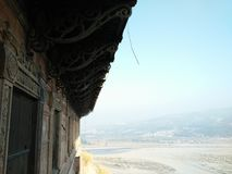 Old is gold. A view from Mubarak Mandi fort Royalty Free Stock Image