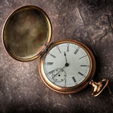 Old  gold watch Stock Image