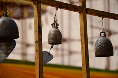 Old Golden Bells Stock Photography