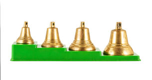 Old golden bells Royalty Free Stock Photo