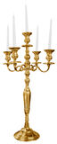 Old golden candlestick Royalty Free Stock Photography