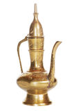 Old golden carafe Royalty Free Stock Images