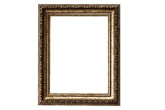 Old golden frame. Beautiful vintage background Royalty Free Stock Photos