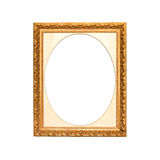 Old golden frame Royalty Free Stock Photos