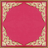 Old golden picture frame Royalty Free Stock Photography