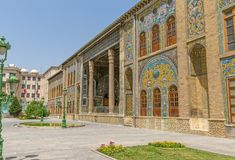 Old Golestan Palace Stock Photo