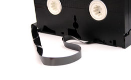 Old good VHS casette Royalty Free Stock Image