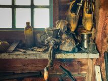 Old Goodies, workstation, wooden shoes/clogs, holland/netherland