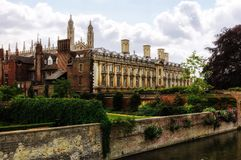 College building in Cambridge, England Stock Photography