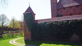 Old gothic castle in Malbork, Poland. Stock Photos