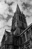 Old Gothic Cathedral Stock Photography