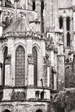 Old Gothic Cathedral Medieval Architecture Detail Stock Photos