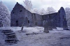 Old Gothic cemetery Stock Photos