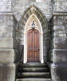 Old Gothic Church Door Royalty Free Stock Photos
