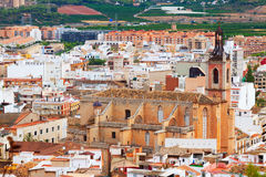 Old gothic church at Sagunto Stock Photos