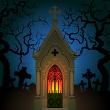 Old Gothic Crypt Royalty Free Stock Images