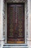 Old gothic door Stock Image