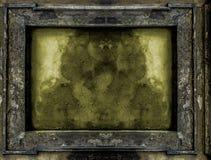 Old Gothic frame background Stock Photo