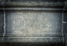 Old gothic frame Stock Photography