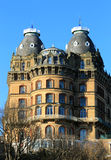 Old gothic hotel building Royalty Free Stock Photo