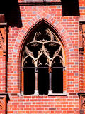 Old gothic style window Royalty Free Stock Photography