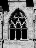 Old gothic style window Royalty Free Stock Images