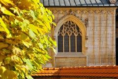 Old gothic window Stock Photo